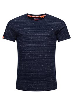 Superdry - T-shirt basic - midnight navy space dye