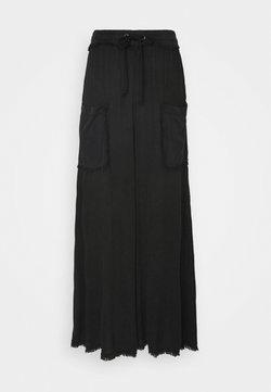 Free People - SURE THING PANT - Pantalones deportivos - black