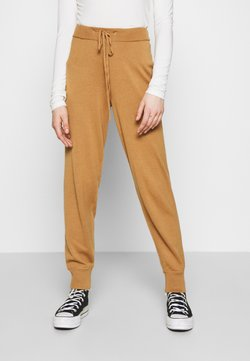 Vero Moda - VMMURI PANTS  - Jogginghose - tobacco brown