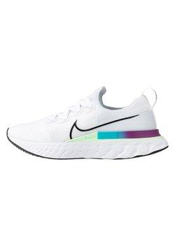 Nike Performance - REACT INFINITY RUN  - Zapatillas de running neutras - white/black/vapor green/oracle aqua