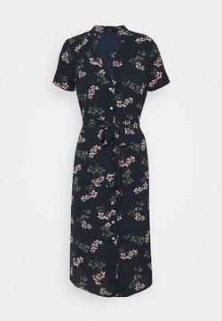 Vero Moda Petite - VMSAGA CALF SHIRT DRESS PETITE - Paitamekko - navy blazer/nellie