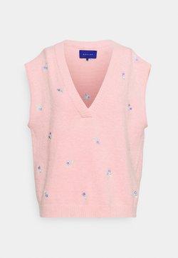 Résumé - DALLI VEST - Strickpullover - pink