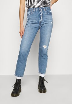 Levi's® - 501 CROP - Straight leg -farkut - athens adventure