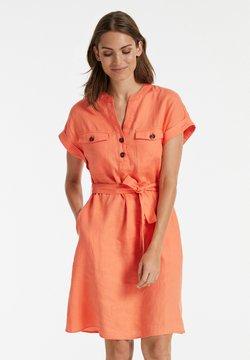 Taifun - Sukienka letnia - papaya