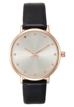 Even&Odd - Montre - black/rose gold-coloured
