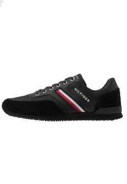 Tommy Hilfiger - ICONIC RUNNER - Sneakers laag - black