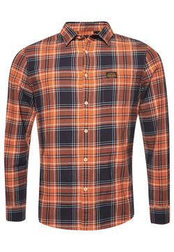 Superdry - WORKWEAR - Hemd - tan check