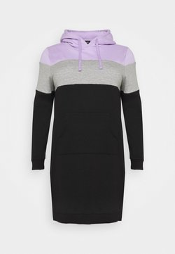 Even&Odd Curvy - Vestido informal - lilac/white/black