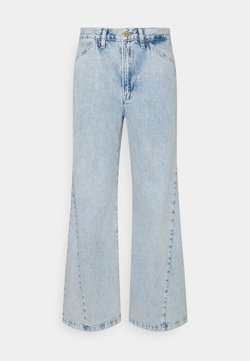 Frame Denim - LE BAGGY PALAZZO - Relaxed fit jeans - whisper