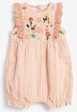 Next - FLORAL EMBROIDERED - Mono - pink