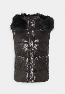 Nly by Nelly - DELUXE VEST - Smanicato - shiny black