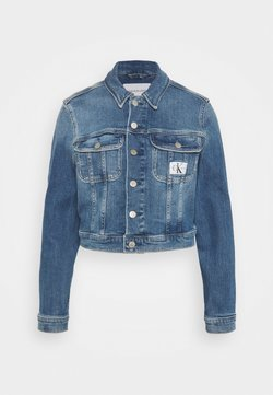 Calvin Klein Jeans - CROPPED JACKET - Veste en jean - denim light