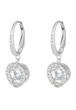 Swarovski - SPARKLING DROP - Earrings - white