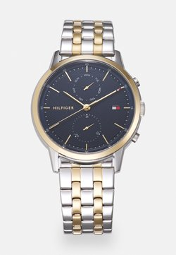 Tommy Hilfiger - EASTON - Rannekello - silver-coloured/gold-coloured