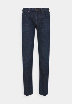 Emporio Armani - POCKETS PANT - Slim fit jeans - dark-blue denim