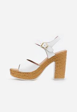 Tata Italia - Sandalen met hoge hak - white