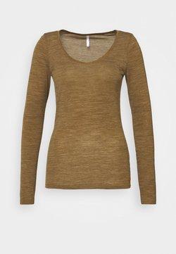 Icebreaker - SIREN SWEETHEART - Unterhemd/-shirt - curry