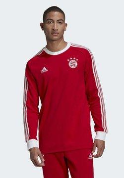 adidas Performance - FC BAYERN LICENSED ICON LONG-SLEEVE TOP - Vereinsmannschaften - red