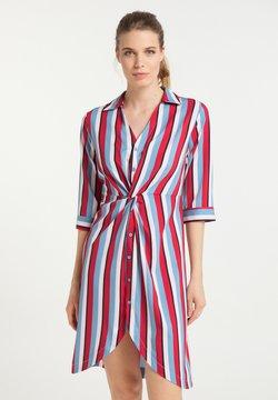 usha - Blusenkleid - multicolor gestreift