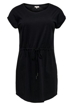 ONLY Carmakoma - KLEID CURVY BASIC - Jerseykleid - black
