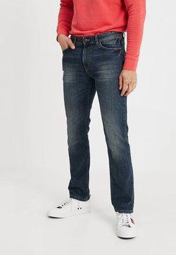 TOM TAILOR - MARVIN - Jeans Straight Leg - mid stone wash denim blue