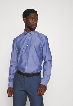 Tommy Hilfiger Tailored - DOBBY DESIGN CLASSIC - Businesshemd - blue
