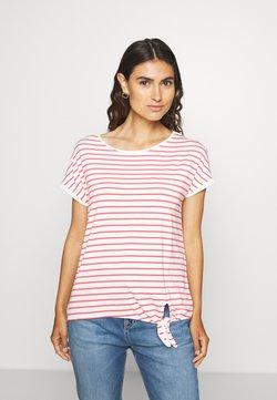 s.Oliver - KURZARM - T-Shirt print - offwhite