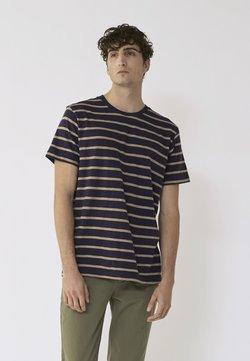 BY GARMENT MAKERS - SCOTT - T-Shirt print - dark blue