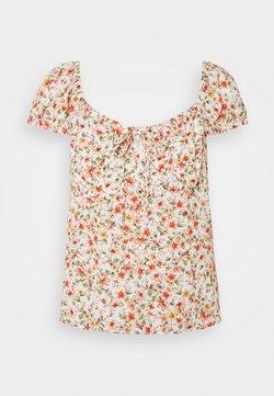 Forever New Petite - AMANDA SWEETHEART TIE FRONT - Camiseta estampada - corsica