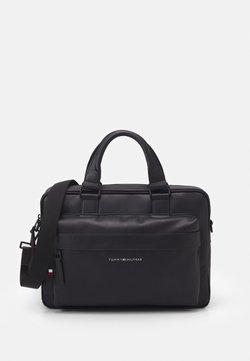 Tommy Hilfiger - ELEVATED COMPUTER BAG UNISEX - Notebooktasche - black
