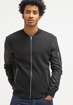 YOURTURN - veste en sweat zippée - black