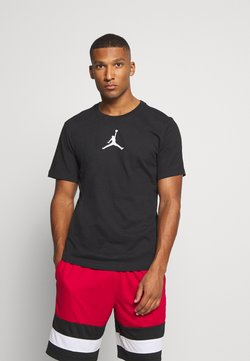 Jordan - JUMPMAN CREW - T-Shirt print - black/white