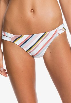 Roxy - PRINTED BEACH CLASSICS - Bikini-Hose - bright white oriental stripe s