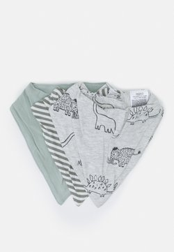 Cotton On - BANDANA BIB 3 PACK UNISEX - Tuch - stone green/silver