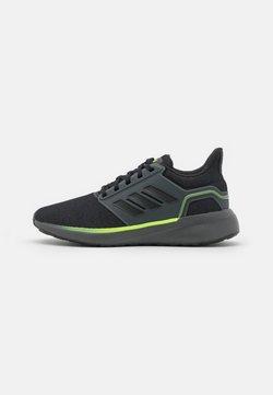 adidas Performance - EQ19 WINTER CONTEMPORARY CLOUDFOAM - Juoksukenkä/neutraalit - grey six/core black/signal green