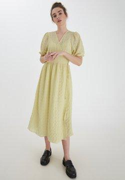 ICHI - Vestido ligero - golden mist