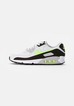 Nike Sportswear - AIR MAX - Baskets basses - white/hot lime-black-neutral grey