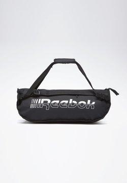 Reebok - FOUNDATION CONVERTIBLE GRIP BAG - Sports bag - black