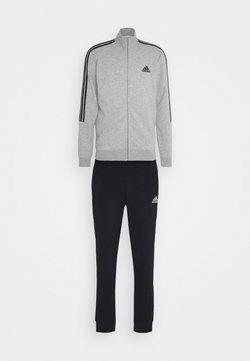 adidas Performance - Trainingsanzug - medium grey heather/black
