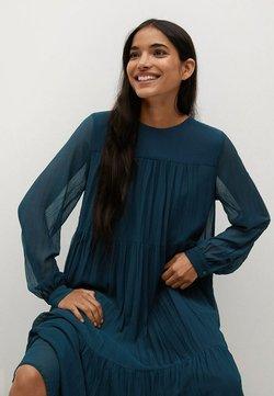Mango - PLISADO - Vapaa-ajan mekko - azul