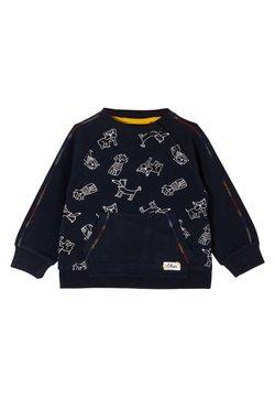 s.Oliver - Sweater - dark blue aop