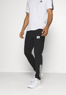 adidas Performance - AEROREADY TRAINING SPORTS PANTS - Pantalon de survêtement - black/white