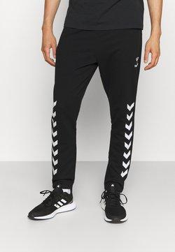 Hummel - RAY 2.0 TAPERED PANTS - Jogginghose - black