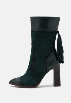 Tamaris Heart & Sole - BOOTS - Laarzen met hoge hak - bottle