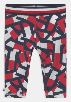 Tommy Hilfiger - BABY  - Leggings - red
