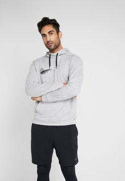 Nike Performance - DRY HOODIE - Huppari - grey heather
