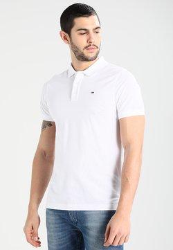 Tommy Jeans - ORIGINAL FINE SLIM FIT - Poloshirt - classic white