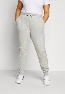 Fila Plus - EIDER PANTS - Jogginghose - light grey melange bros