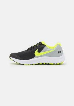 Nike Performance - STAR RUNNER 3 PLAY GS UNISEX - Juoksukenkä/neutraalit - black/volt/light smoke grey/white
