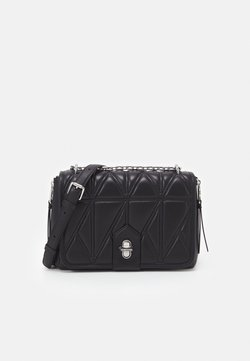 KARL LAGERFELD - STUDIO ZIP SHOULDERBAG - Handtasche - black